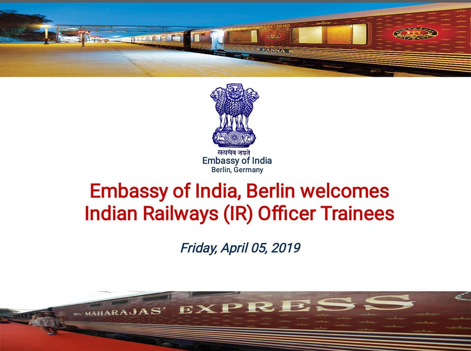 Welcome to Embassy of India, Berlin(Germany)