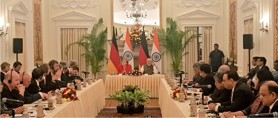 Chancellor Merkel's India visit for the 5th Inter-Governmental Consultations